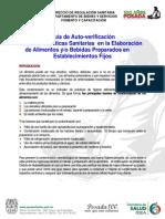 Cedulas de Autoverificacion Establecimientos Fijos y Semifijos
