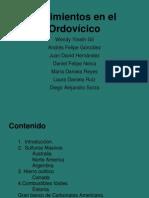 Yacimientos minerales Ordovicico