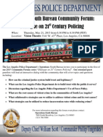 Dialogue on 21st Century Policing