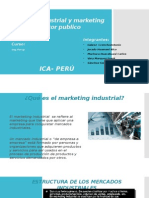 Marketing Industrial y Marketing de Sector Publico