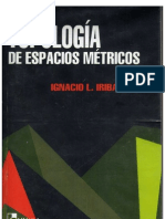 Ignacio l. Iribarren espacios metricos