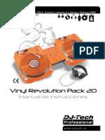 manual Vinyl Revolution Pack 20