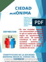Diapositivas Exposicion Sociedad Anonima