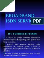 BROADBAND ISDN SERVICES.ppt