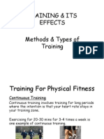 Methods and Types of Training (15)