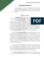 Suspension Definitiva a Carmen Aristegui
