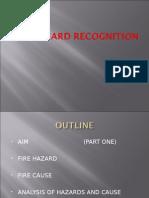 Fire Hazard Recog