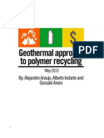 Geothermal Approach to PET Recycling