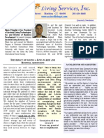Assisted Living Services 2015 2nd Qtr Newsletter