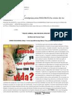 """La crisis de la """"Vocación"""" « Prensa Católica.pdf"""