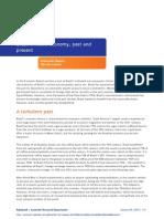 Brazil's Macro Economy, Past and Present