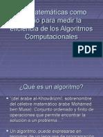 eficiencia algoritmos