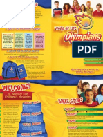 Word of Life Olympians Children's Ministry Program Overview