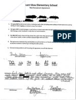 Non Harassment Agreement Example