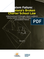 New Report Exposes Holes in Louisiana's Charter School Program and Millions in Taxpayer Dollars Wasted on a Broken System