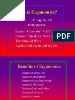 Ergonomics Class Presentation