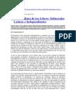La Nueva Ruta de Los Libros - Editoriales Latinas e Independientes