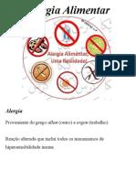 Alergia x Alimentos