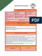 Sistematización Formativa