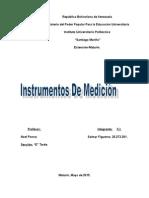 Laboratorio de Fisica Instrumentos de Medicion Trabajo 2