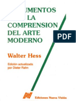 HESS Walter Documentos Para La Comprension Del Arte Moderno