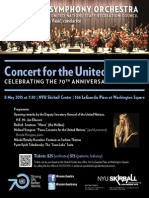 United Nations Symphony Poster