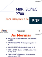 Questões NBR 27001