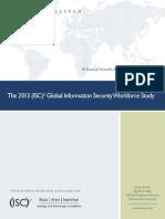 2013 Global Information Security Workforce Study