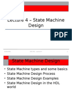 ECE 561 - Lecture 4 - State Machine Design