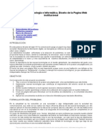 Diseno Pagina Web Institucional