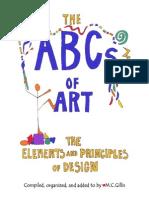book abcsofart elementsandprinciplesofdesign