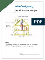 Principles of Passive Design
