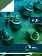 Bml Inerals Brochure