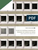 Plano de Controle Externo TCU 2015 a 2017