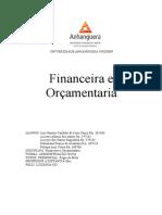 Atps Pra Postar Financeira e Orcamentaria