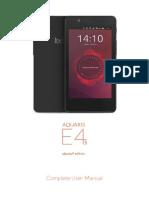 Manual Aquaris E4.5 Ubuntu En