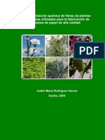 Caracterización Química de Fibras de Plantas Herbáceas