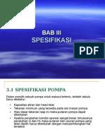 BAB-III- Spesifikasi Pompa.ppt