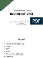 MTCRE Presentation Material