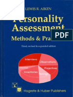 Personality Assessment Methods and Practices, 3rd Edition