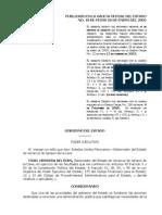 157_decreto Establece Bases Creacion Fideicomiso Puente Coatzacoalcos (Reformado 6-Diciembre-2006)