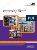 Residential Design Guide Adopted