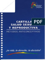 Cartilla Salud Sexual y Reproductiva