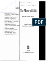 William Saint-Thierry - Mirror of Faith 25