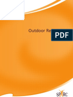 Sport and Recreation New Zealand Outdoor receation Policy 2009-2015