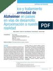 ArticuDiagnóstico y tratamiento de la enfermedad de Alzheimerlo de Revision