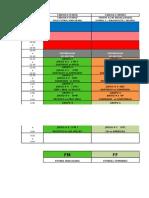 Horario Oficial Intersek 2015.