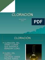 Cloracion Del Agua 2013