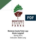 monterey county parks logo portfolio