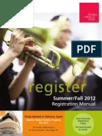 Registration Manual 2012 SUFA